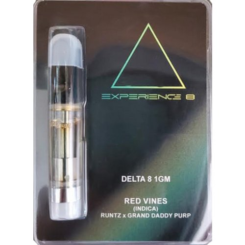Experience 8 Delta 8 Cartridge1G